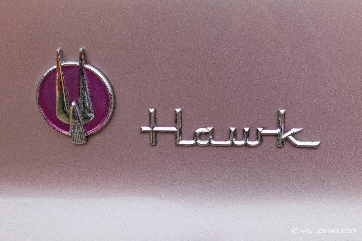Hawk motor car decal.