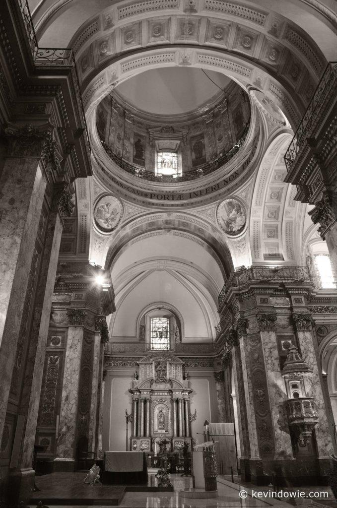 Interior, Metropolitan Cathedral, Buenos Aires.