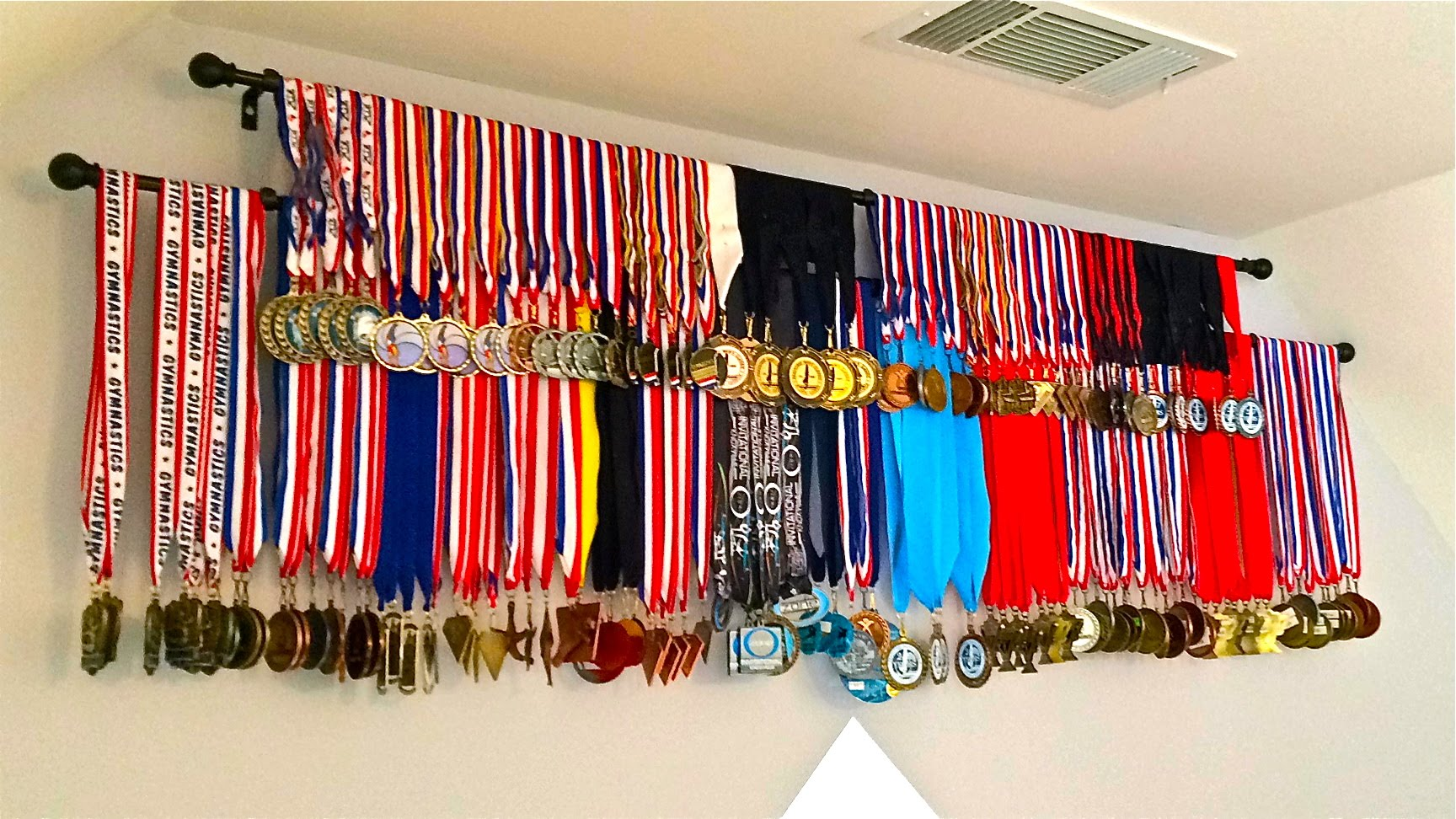 Diy Medals Display Idea