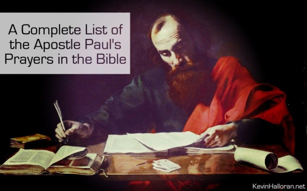 List-the-Apostle-Pauls-Prayers-in-the-Bible