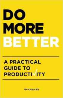 Do More Better Book Cover Tim Challies