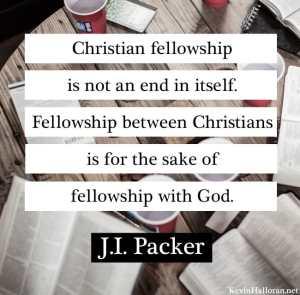 JI Packer Quote on Fellowship