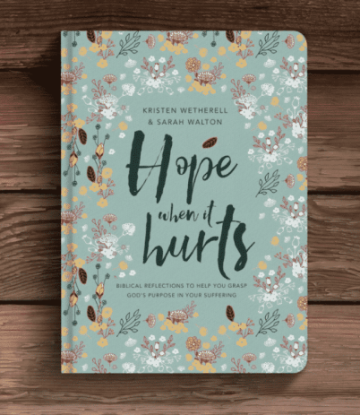 Hope When it Hurts Book Cover - Walton Wetherell