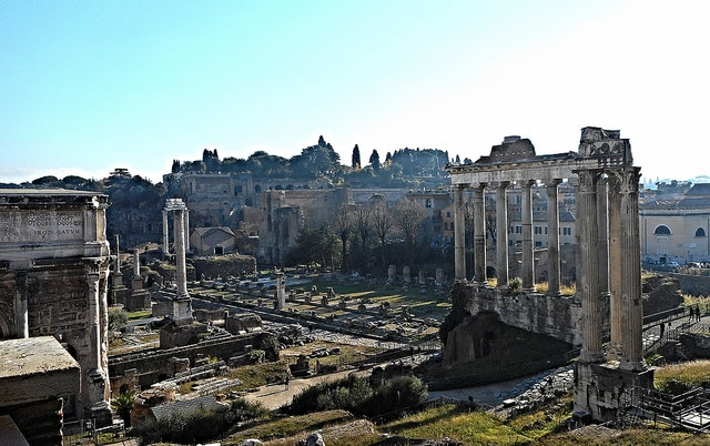 The Roman Forum and Palatine Hill