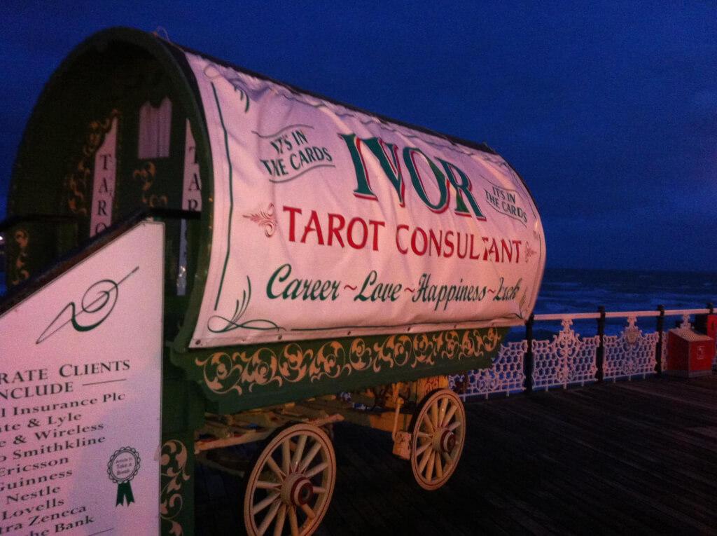 Ivor Fireman, the Tarot Consultant