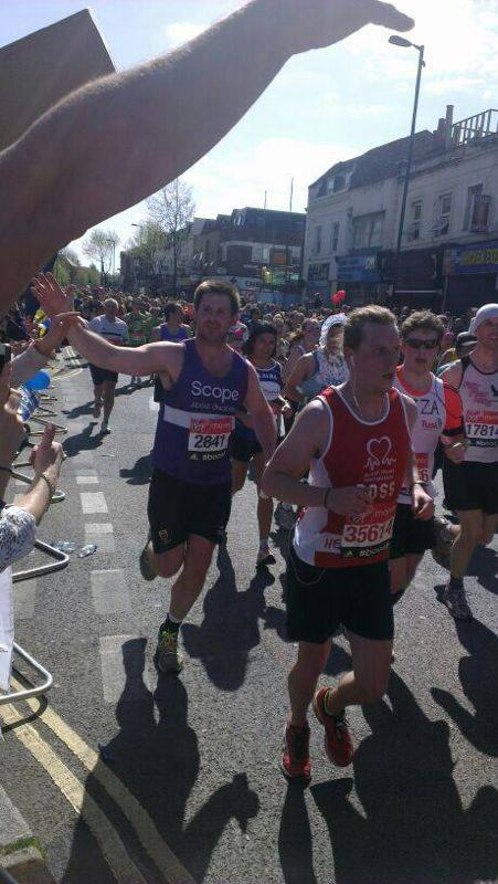 London Marathon marketing winners
