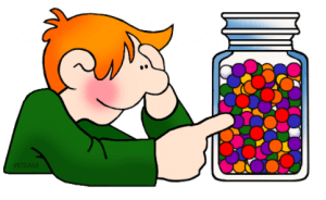 SWAG, estimating sweets in the jar