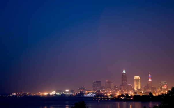 Cleveland on the 4th of July