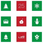 50 Free Festive Icon Sets for Christmas