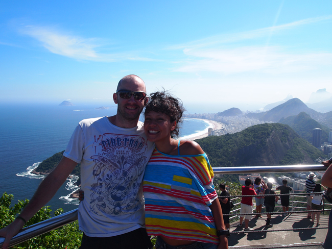 At the Top of Pão de Açúcar