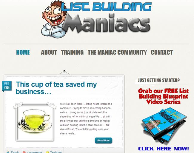 List Building Maniacs