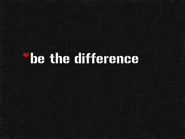 Be-The-Difference