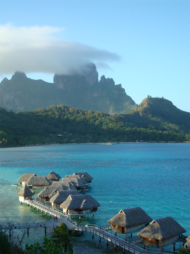 Stay in an Overwater Bungalow in Bora Bora
