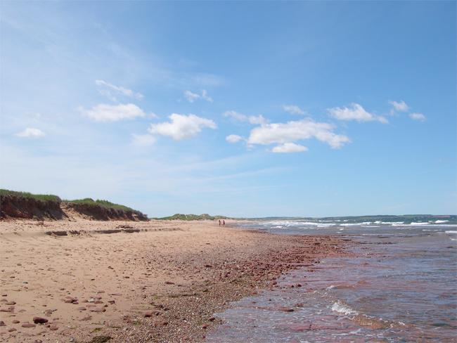 Cavendish Beach, Prince Edward Island, Canada
