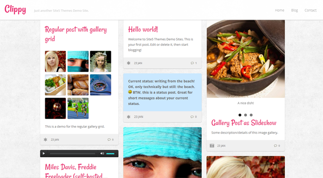 Clippy WordPress Theme
