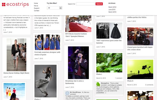 EcoStrips WordPress Theme