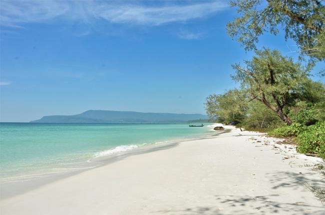 Southwestern Beach, Koh Rong, Cambodia