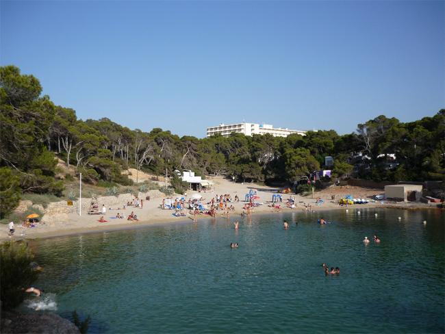 Las Salinas, Ibiza, Spain
