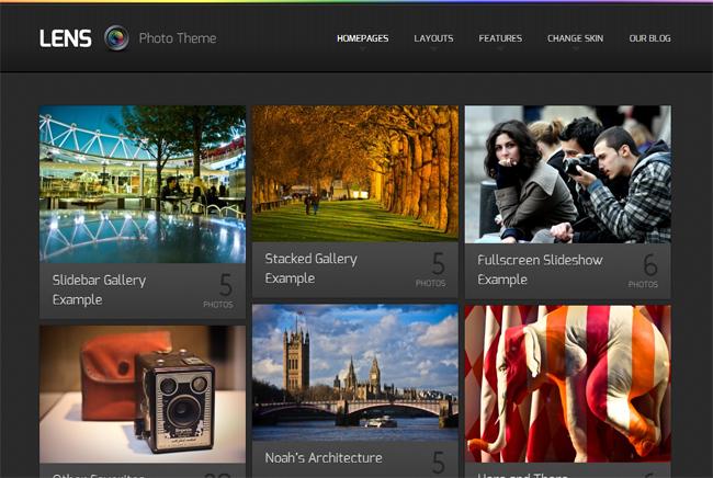 Lens Theme WordPress Theme