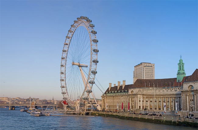 Ride the London Eye (Millennium Wheel)
