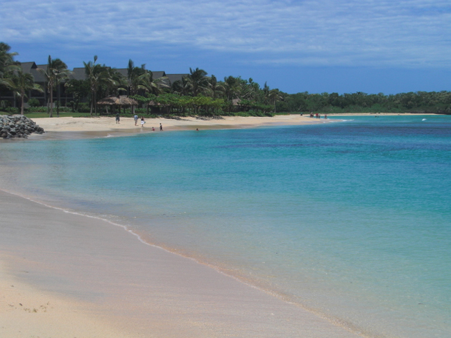 Natadola Beach,Viti Levu Island, Republic of Fiji Islands