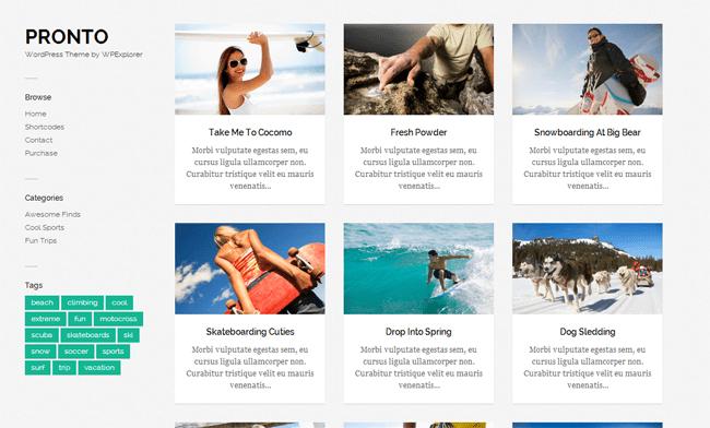 PRONTO WordPress Theme