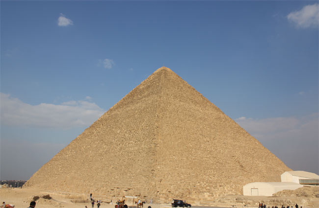 Explore the Great Pyramid of Giza