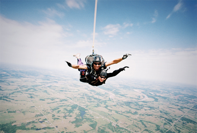 Go Skydiving