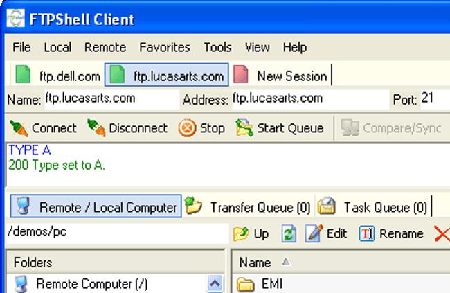 FTPShell Client