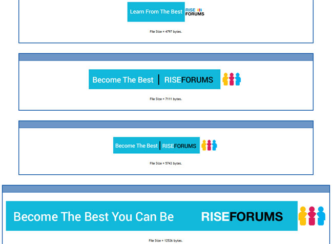 RiseForums Banners