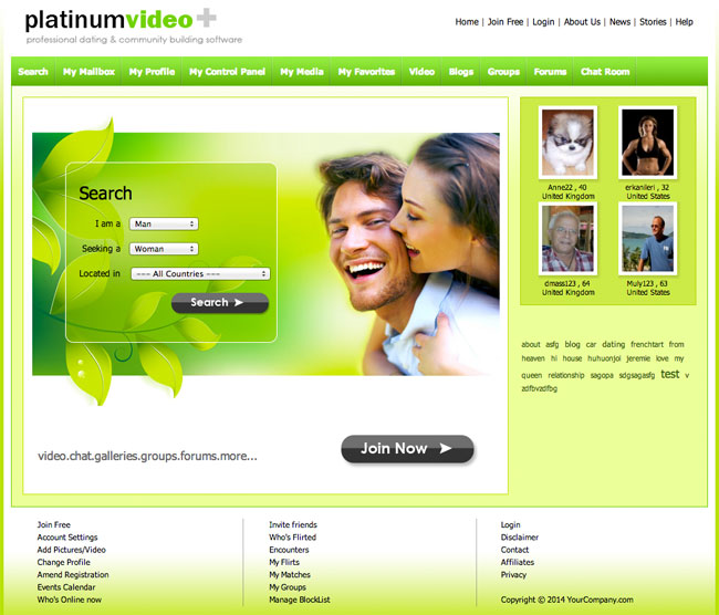 DatingSoftware+ Dating Script