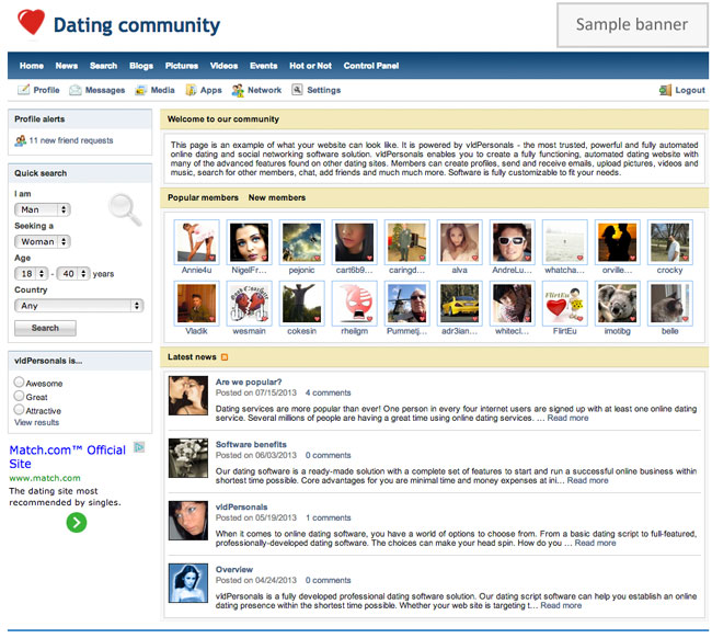 Buy dating site software and dating apps