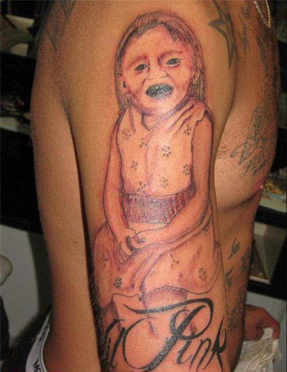 Devil Child Bad Tattoo