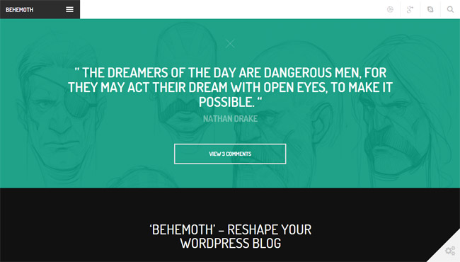Behemoth WordPress Theme