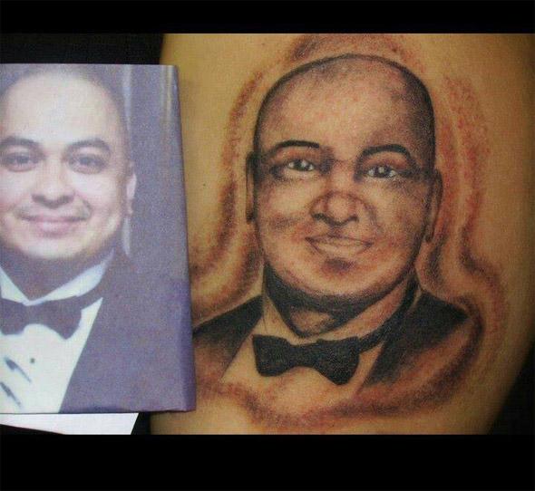Bowtie Bob Tattoo