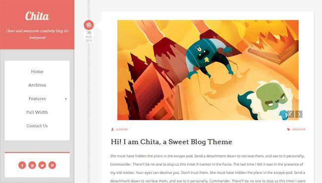 Chita WordPress Theme