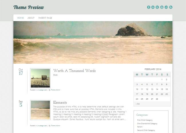 Cirrus WordPress Theme