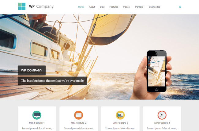 Company WordPress Theme