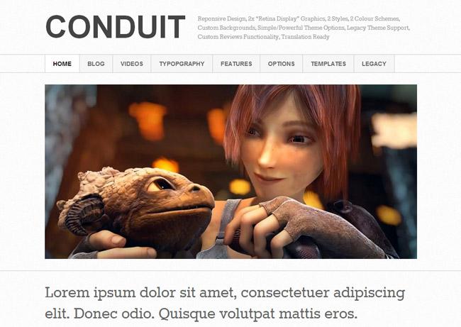 Conduit WordPress Theme