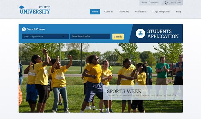 Education Academy WordPress Theme