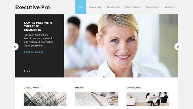 Executive Pro WordPress Theme