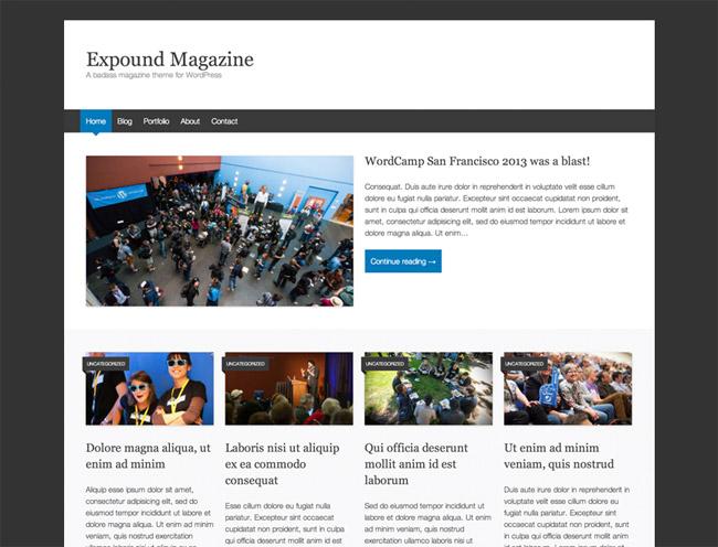 Expound WordPress Theme