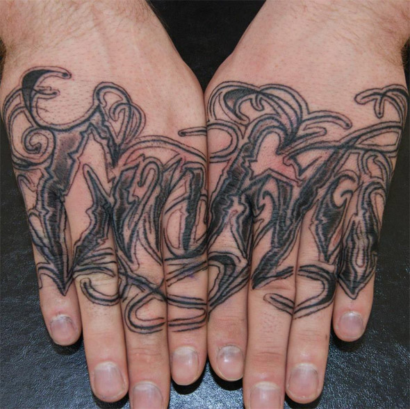 Hands Together Tattoo
