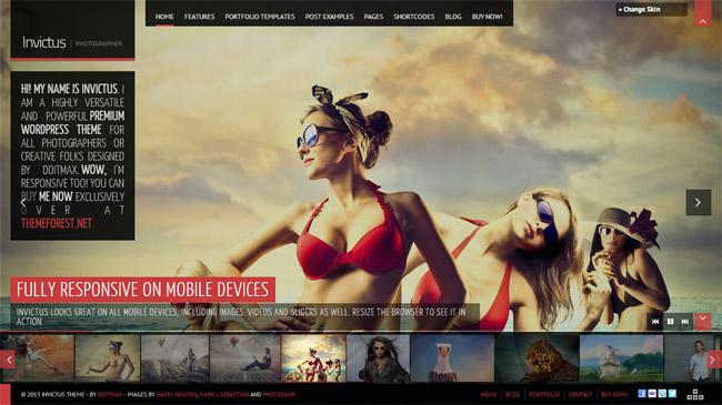Invictus WordPress Theme
