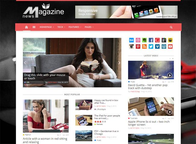 Magazin WordPress Theme
