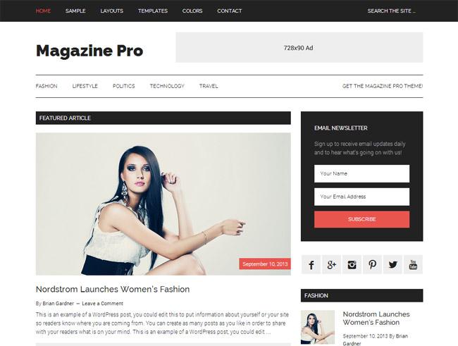 Magazine Pro WordPress Theme