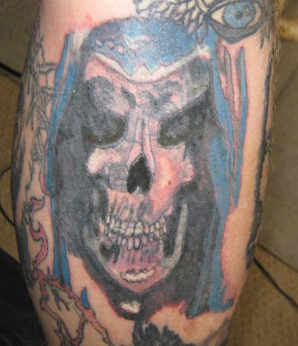 Blurred Lines Tattoo