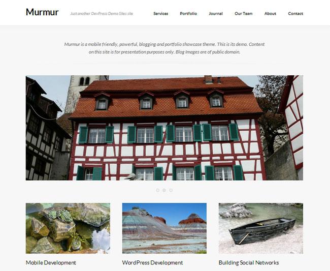 Murmur WordPress Theme
