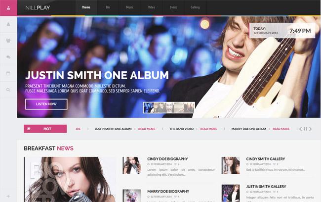 Nillplay Multimedia WordPress Theme
