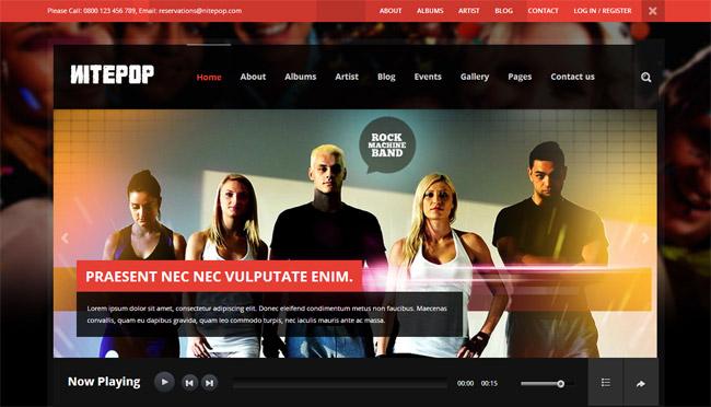 Nite Pop WordPress Theme